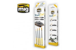 Mig Starter Brush Set Pack of 4