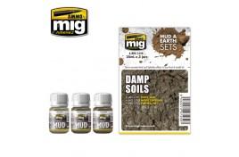 Damp Soils Mud And Earth Set