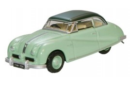 Austin Atlantic Saloon - Ash Green OO gauge