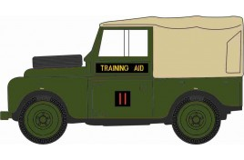 Land Rover Series 1 88 Canvas 6th Training Aid