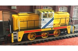 British Steel No5 Janus 0 6 0 Diesel - OO Gauge