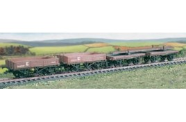 575 Permanent Way Set, 4 Wagons (M/W, B/B)