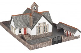 Village School N Scale