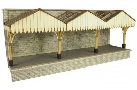 Wall Backed Platform Canopy OO/HO Gauge