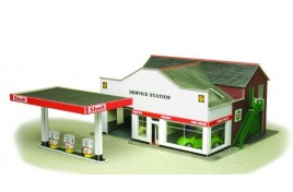 Service Station Card Kit OO Scale