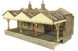 Parcel Offices OO/HO Gauge