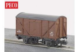 Box Van BR Brown N Gauge