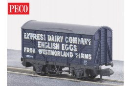 Express Dairy English Eggs Box Van N Gauge