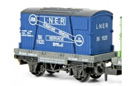 Conflat & Container Furniture Removals LNER N Gauge