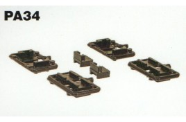 Mounting Blocks (10pk) for Bachmann 36-027