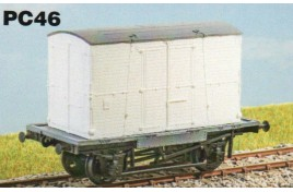 'Conflat A' Container Wagon with FM Container - OO scale