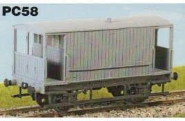 20 ton Goods Brake Van - OO scale