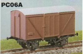 LNER 12 Ton Plywood Goods Van BR Condition OO Gauge