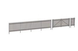 Modern Palisade Fencing