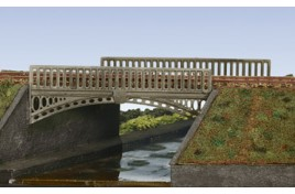 Victorian Cast Iron Type Bridge - Sides Only Plastic Kit OO Scale
