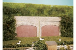 Stone Retaining Arches Plastic Kit OO Scale