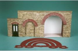 Brick Arch Overlays (Plastic) OO Scale