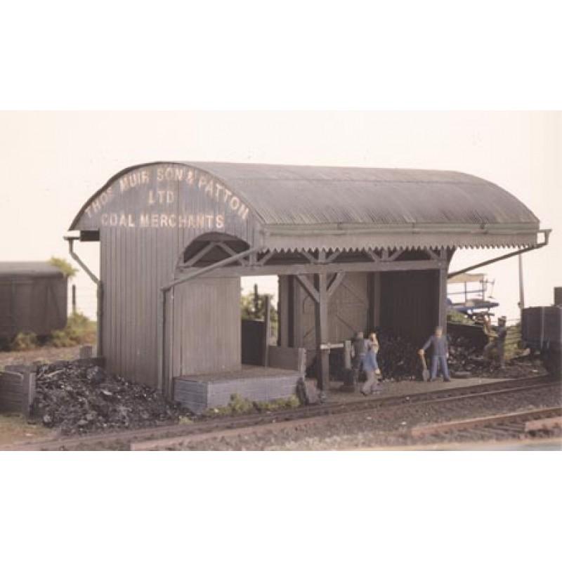 Coal Timber Merchants Depot Plastic Kit Oo Scale