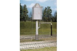 GWR Pillar Type Round Water Tower - Conical or Flat Top Plastic Kit OO Scale