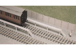 Carriage Cleaning Platforms Plastic Kit OO Scale