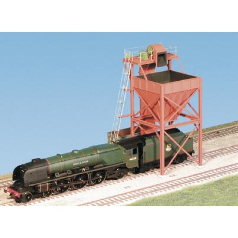 Coaling Tower Plastic Kit Oo Scale