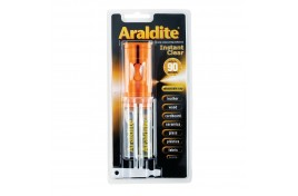 Araldite Instant 2 Part Clear Adhesive 24ml Syringe