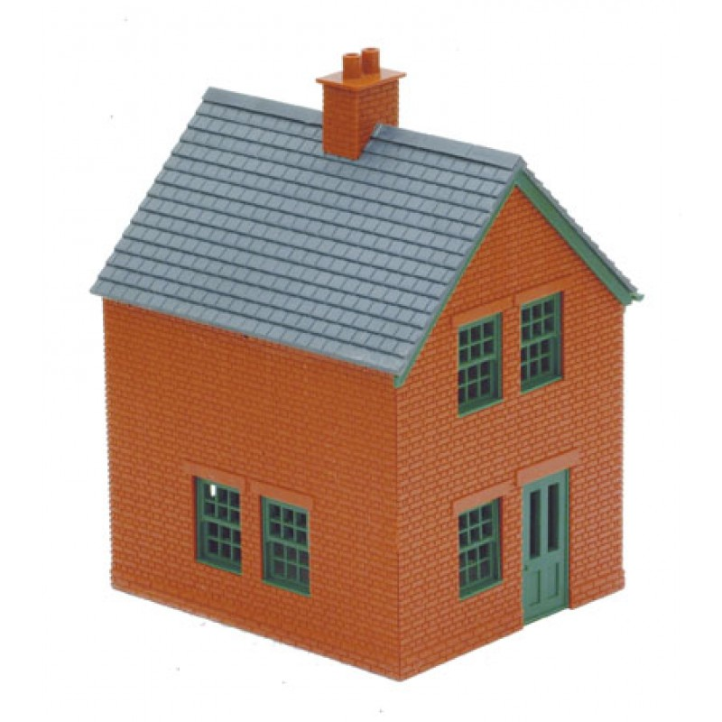 Station house brick type plastic kit oo scale for Brick kit homes
