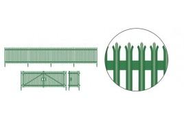 Modern Palisade Fencing & Gates