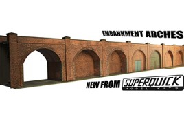 Embankment Arches OO Guage