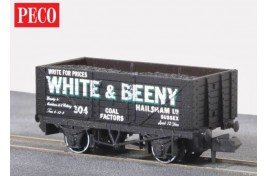 7 Plank Wagon Private Owner White and Beeny no.304 N Gauge