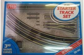 Setrack Starter Track Set 3rd Radius OO/HO
