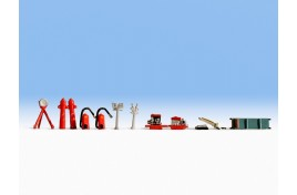 Fire Brigade Accessories OO/HO Scale
