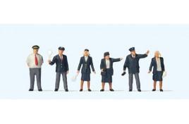 OO Scale British Rail Staff x 6 OO Scale