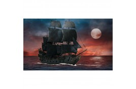 Pirates Of The Caribbean Black Pearl Quick Click 1:150 Scale Plastic Kit