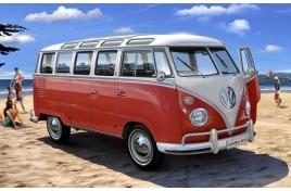 VW T1 Samba Bus 1:24 Scale Plastic Kit