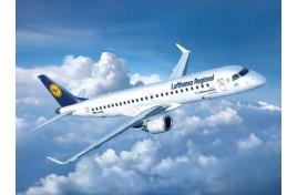 Embraer 190 Lufthansa 1:144 Scale Plastic Kit