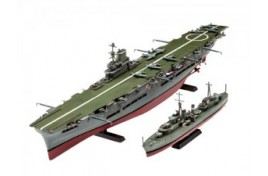 HMS Ark Royal & Tribal Class Destroyer 1:72 Scale Plastic Kit