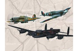 100 Years RAF - British Legends Gift Set 1:72 Scale Plastic Kit