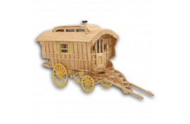 Ledge Top Caravan Matchstick Kit 1:20 Scale