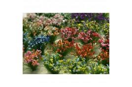 10mm Assorted Flower Tufts x 30