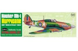 Hawker MK1 Hurricane Balsa Kit 1/30 Scale