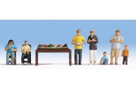 Railway Modellers x 7 and their Layout OO/HO Scale