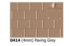 4mm  Paving  Grey OO Scale