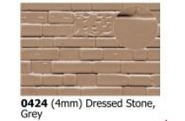 4mm Dressed Stone  Grey OO Scale