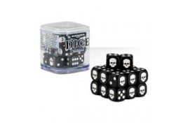 Citadel 12mm Dice Set (Black) - 65-36