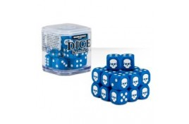 Citadel 12mm Dice Set (Blue) - 65-36