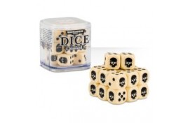 Citadel 12mm Dice Set (Bone) - 65-36