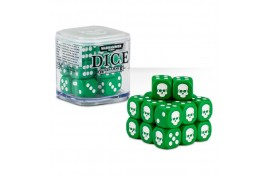 Citadel 12mm Dice Set (Green) - 65-36
