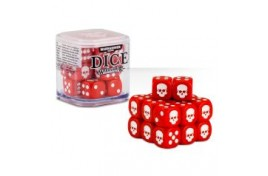 Citadel 12mm Dice Set (Red) - 65-36
