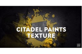 Video tutorial: Citadel Texture Paints